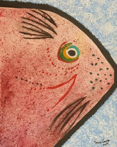 Puple Pink Fish